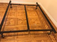Adjustable Bed Frame, Black steel Los Angeles, 91402