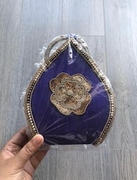 NEW Purple & Gold Purse Markham, L6B 1N4