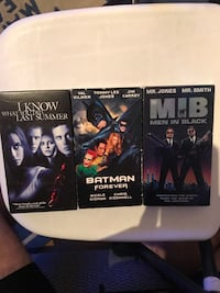 SELLING ASSORTED VHS MOVIES! Toronto, M6E
