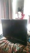 RCA flat screen with built in dvd player