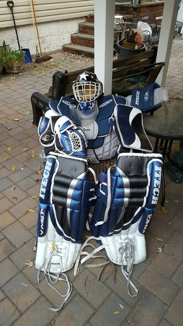 Used Hockey Goalie Equipment For Sale In New York Letgo