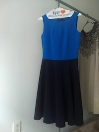 XS Two tones blue flare dress  Queens, 11373
