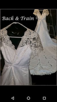 white floral lace long sleeve dress Hyattsville, 20782