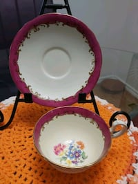Exquisite Aynsley cup & saucer no chips, cracks or Ottawa, K2H 7P5