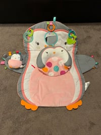Bright Starts Tummy Time Prop & Play Penguin