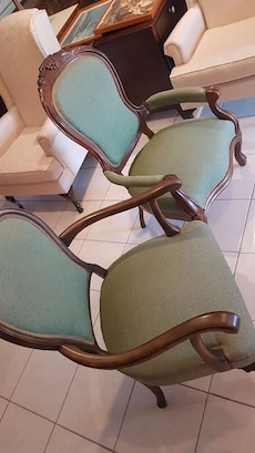 Pair Of antique his and hers chairs