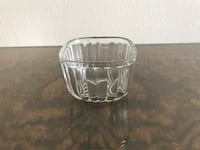 Vintage Glass Condiment/Butter Cup