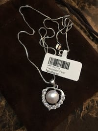 Freshwater Pearl & Sterling silver Necklace Hamilton, L9C 6M3