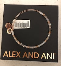 NEW Alex and Ani Bracelet Suffolk, 23435