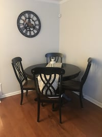 Pier 1 table with Overstock chairs New York, 10028