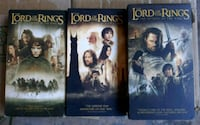 Lord of The Rings VHS Tapes Corona, 92880