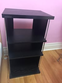 black wooden single-pedestal desk Montréal, H4B 2X3