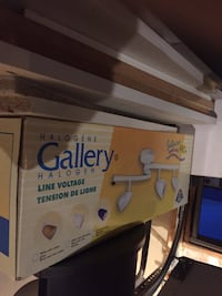 Track lighting, excellent condition, never used.  Airdrie, T4B 2Y4