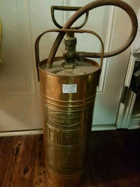 Antique Copper Fire Extinguishers Great Condition