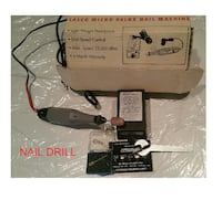 a nail drill (plus accessories) in very good condition!     TORONTO