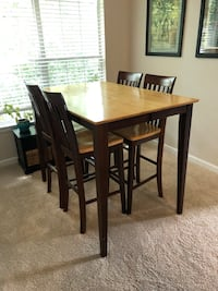 High Top Table with 6 Chairs & Leaf Extension Chamblee, 30341