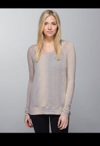 Lululemon burnout long sleeve ~ size 8/1 Surrey, V4N 6A2