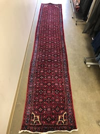 Handmade Persian wool runner delivery available  Toronto, M2R 3N1
