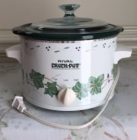 """RIVAL"" ""Crock-Pot"" Stoneware Slow Cooker, 2qts.."