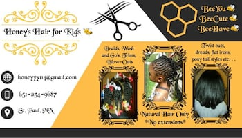 """hair styling for kids """"Holidays, Weddings etc"""""""