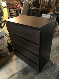 BROWN CHEST OF DRAWS - GREAT CONDITION- FREE DELIVERY AVAILABLE Markham, L3R 9W3