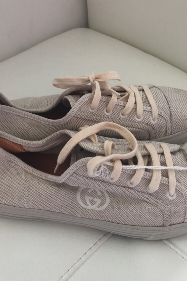 Gucci beige sneakers  biodegradable new never worn  b5e09370-0718-4355-892a-55b4941eedc6