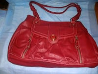 red leather 2-way bag Houston, 77093