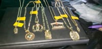 Chains .an charms..gold plated  Bakersfield, 93307
