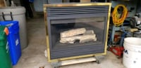 Gas Fireplace with Electric Blower Halton Hills, L7G 1K6
