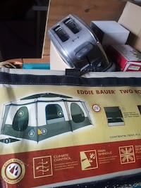 New tent never opened with power port