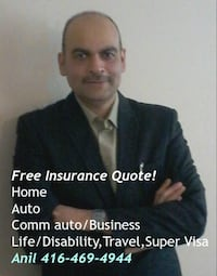 Insurance Broker Anil  [PHONE NUMBER HIDDEN]  TORONTO