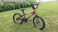 Red and black mongoose bmx bike New never been used Rockford, 61103