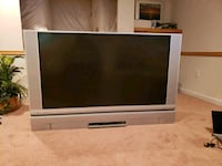"gray HITACHI 60"" 720p HD LCD TV Upper Marlboro, 20772"