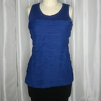 women's blue sleeveless dress Los Angeles