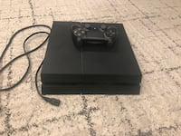 Black sony ps4 console with controller Washington, 20015