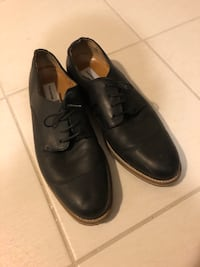 Frank and Oak black men's leather dress shoes, size 10 Toronto, M6J 3C2