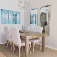 Dining room table and chairs San Diego, 92127