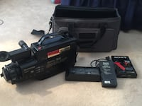 Sharp Brand 1985 Camcorder with all accessories (fully functional) Omaha, 68137
