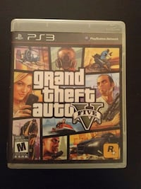 PS3 Grand Theft Auto 5 game