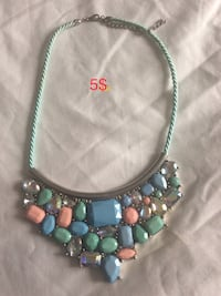 New multicolor necklace  Laval, H7X 3R8