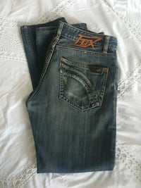 FOX jeans button up   32  Edmonton, T5B 3M9