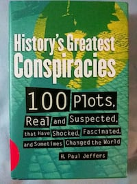 History's Greatest Conspiracies book Glen Burnie