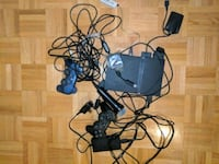 PS2 Slim + 7 games + microphone Mississauga, L4X 1S6