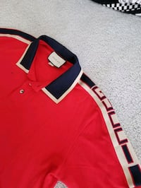 GUCCI Red Polo - brand new never worn Toronto, M5J 1B7