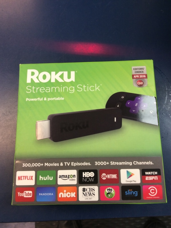 Roku Box: Used Roku Streaming Stick Box For Sale In Wilmington