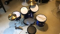 Kids start up drums used only twice in perfect condition Mississauga, L5L 3M5