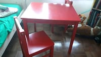 Ikea Children's Table and Chairs