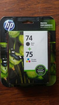 HP black and color ink