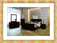 11pc Louis Phillipe bedroom set with mattress 29 km