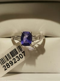 1.85ct Color Changing Fluorite Silver Ring Gilbert